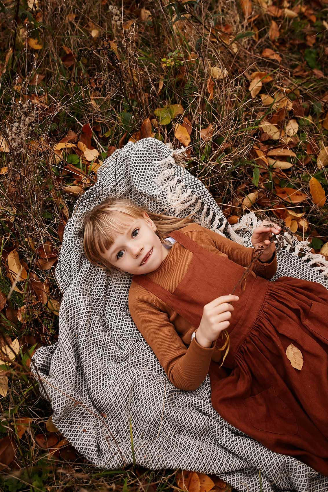 fotografia portretowa dziecieca warszawa jesienny plener