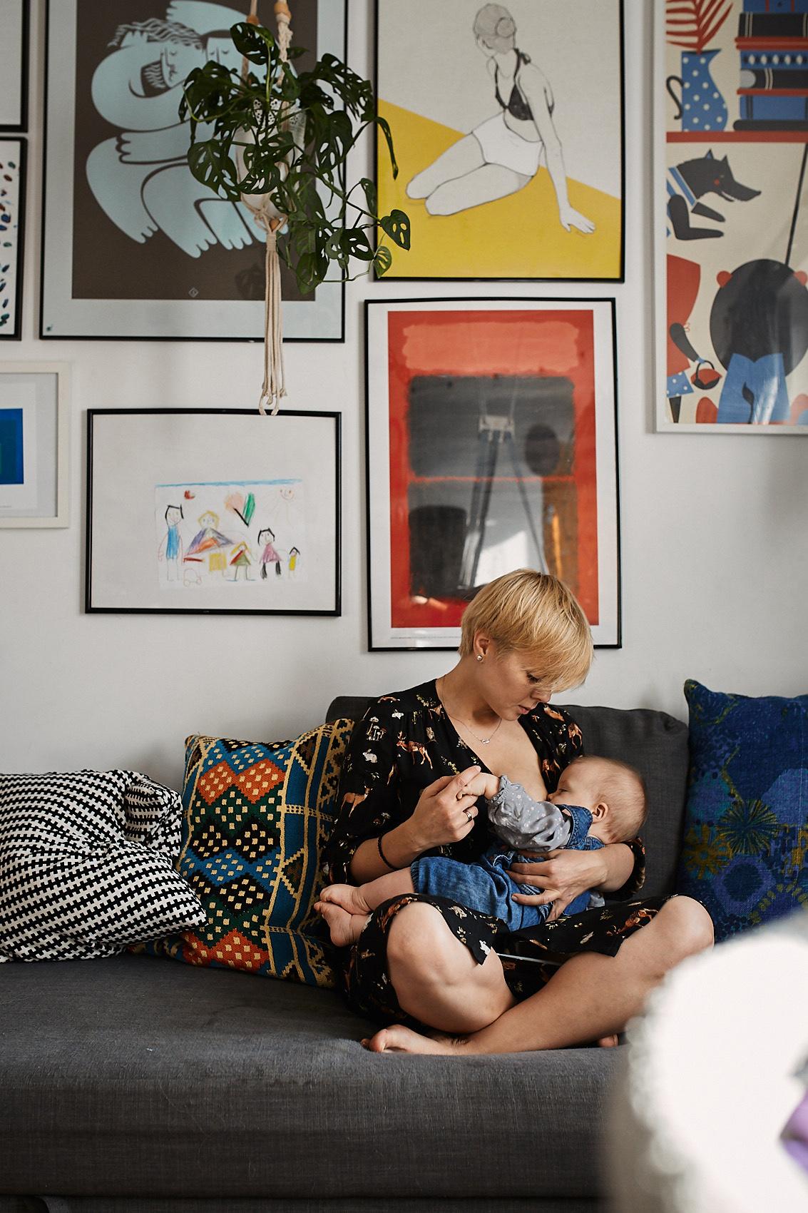 karmienie piersia naturalne rodzicielstwo fotograf warszawa
