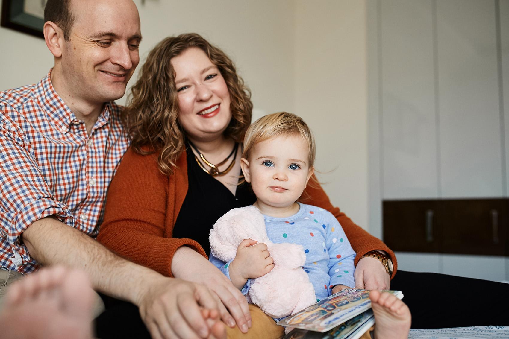 portret rodzinny sesje w domu