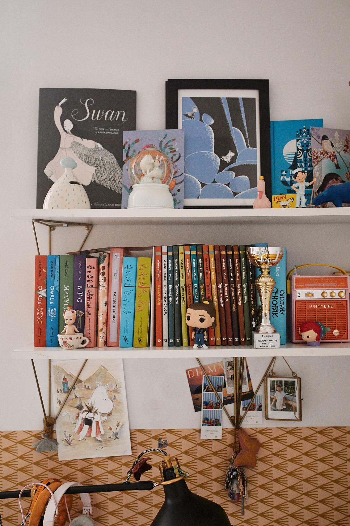 pokoj dziecka ksiazki