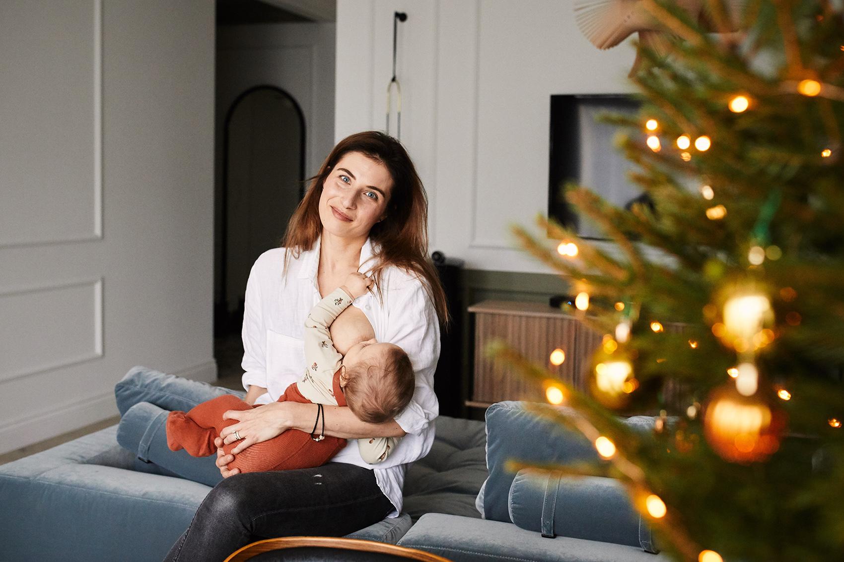 natruralna fotografia rodzinna warszawa sesja w domu
