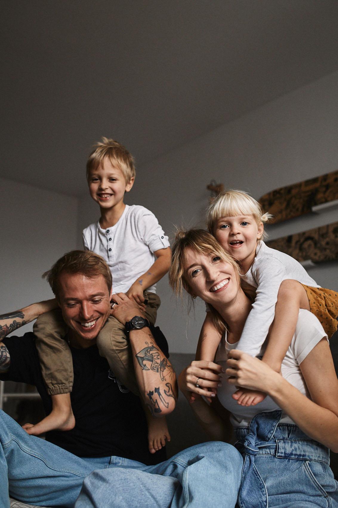 portret rodzinny sesja lifestyle warszawa