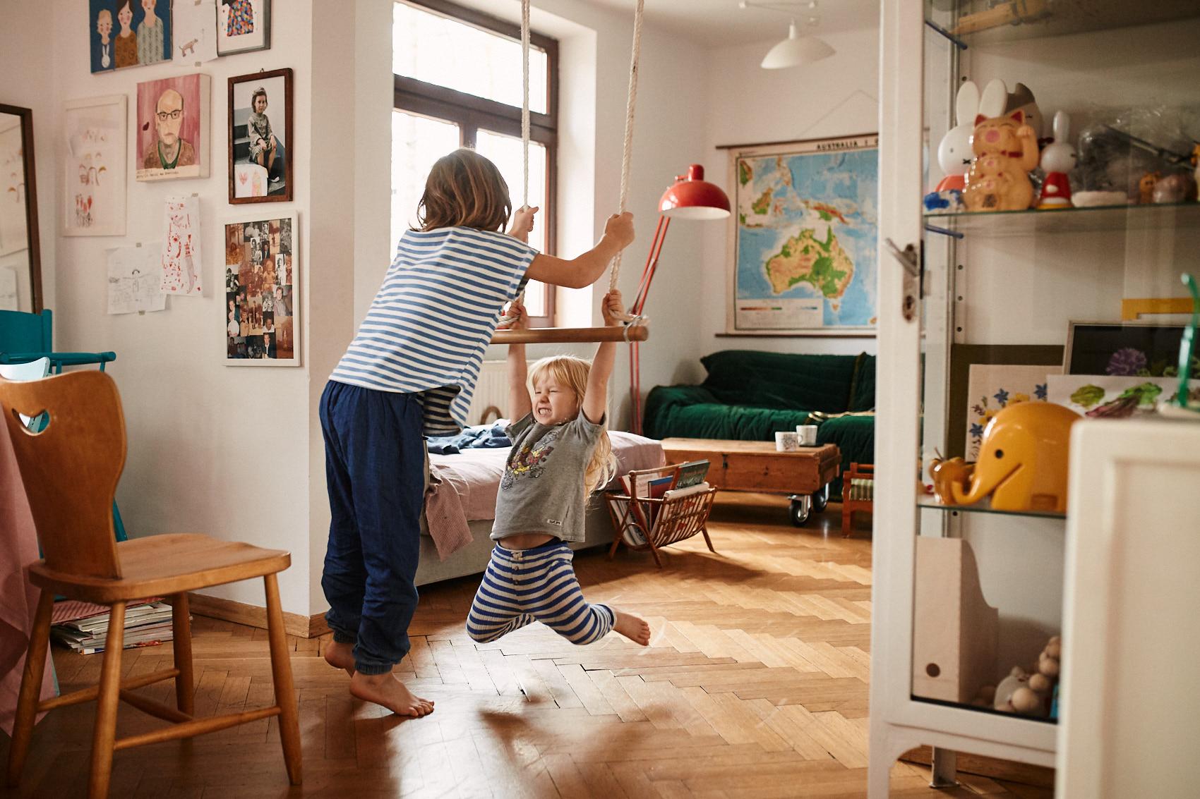 sesja wnetrze vintage rodzinna w domu