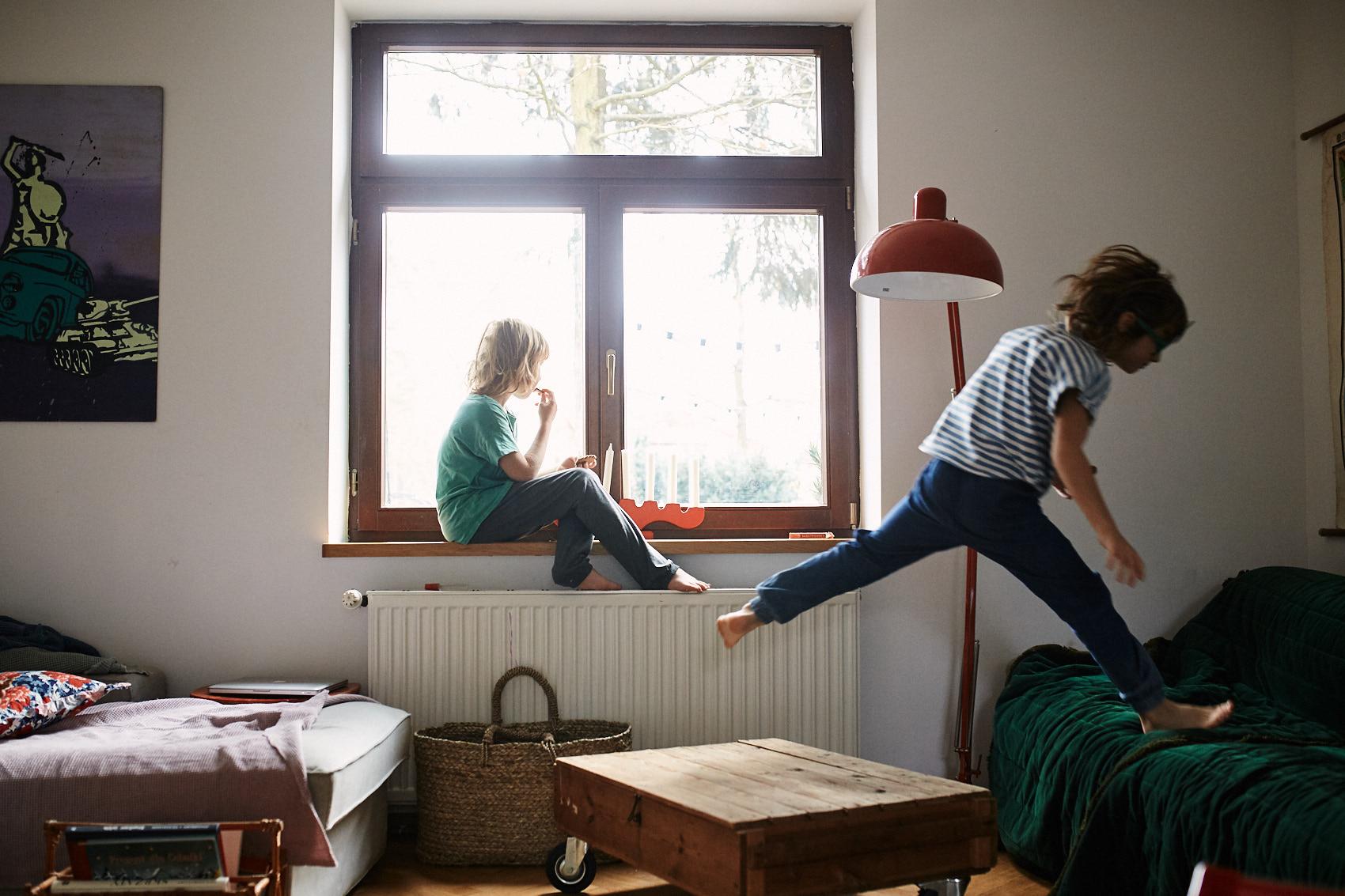 dziecinstwo bez pradu sesja w domu