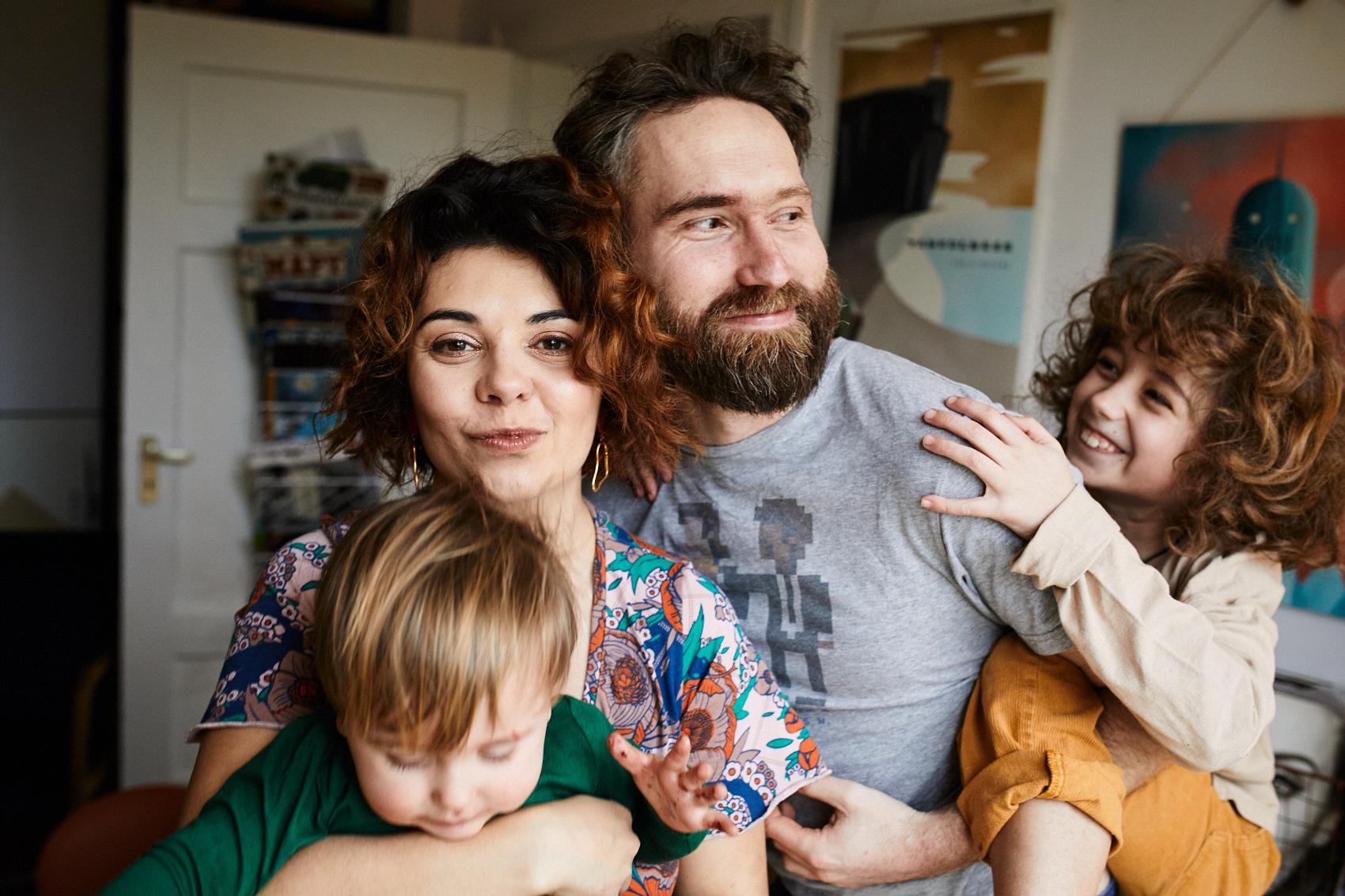 fotograf rodzinny warszawa sesje w domu lifestylowe