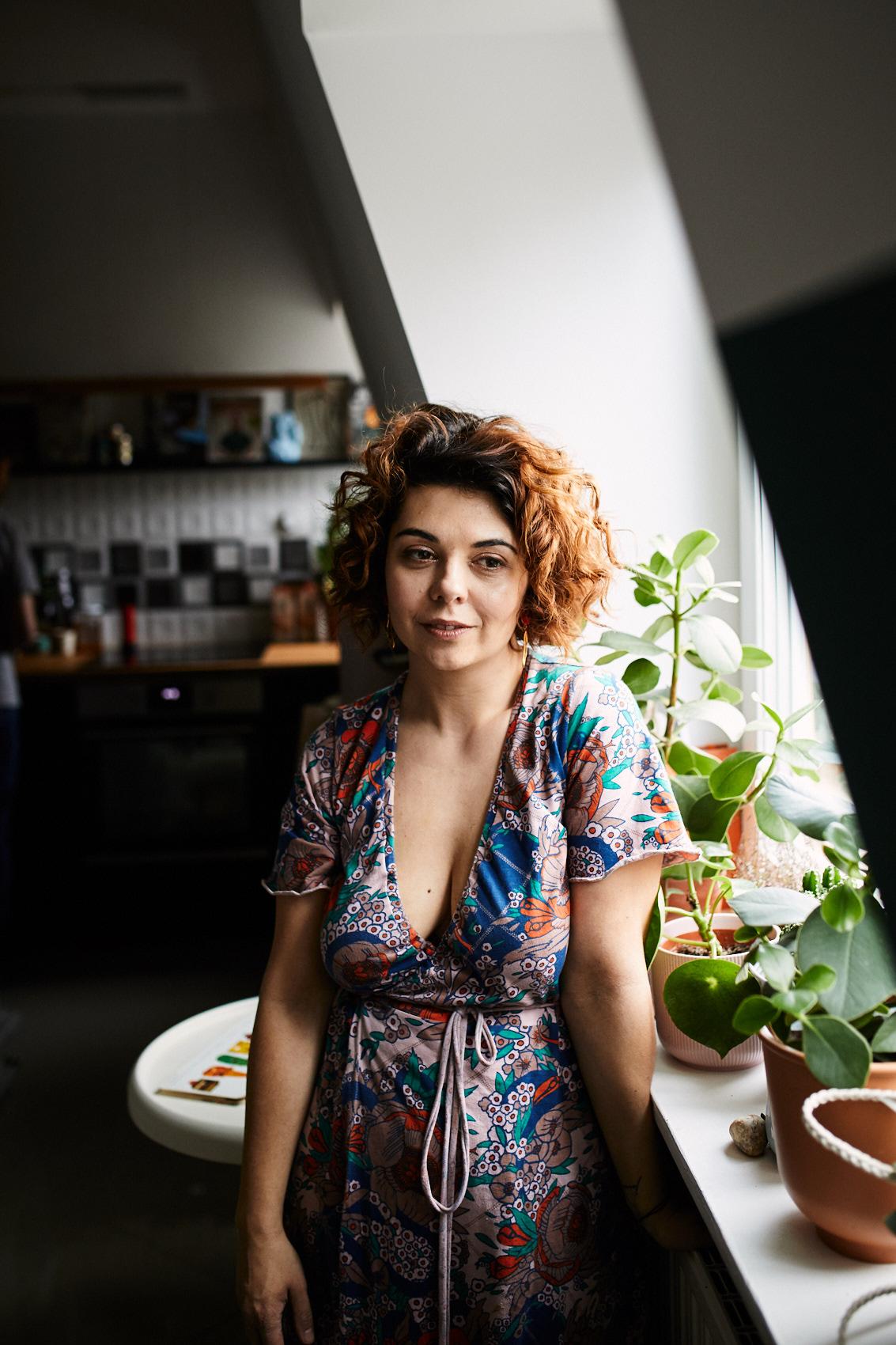 sesja portretowa kobieca warszawa wizerunkowa
