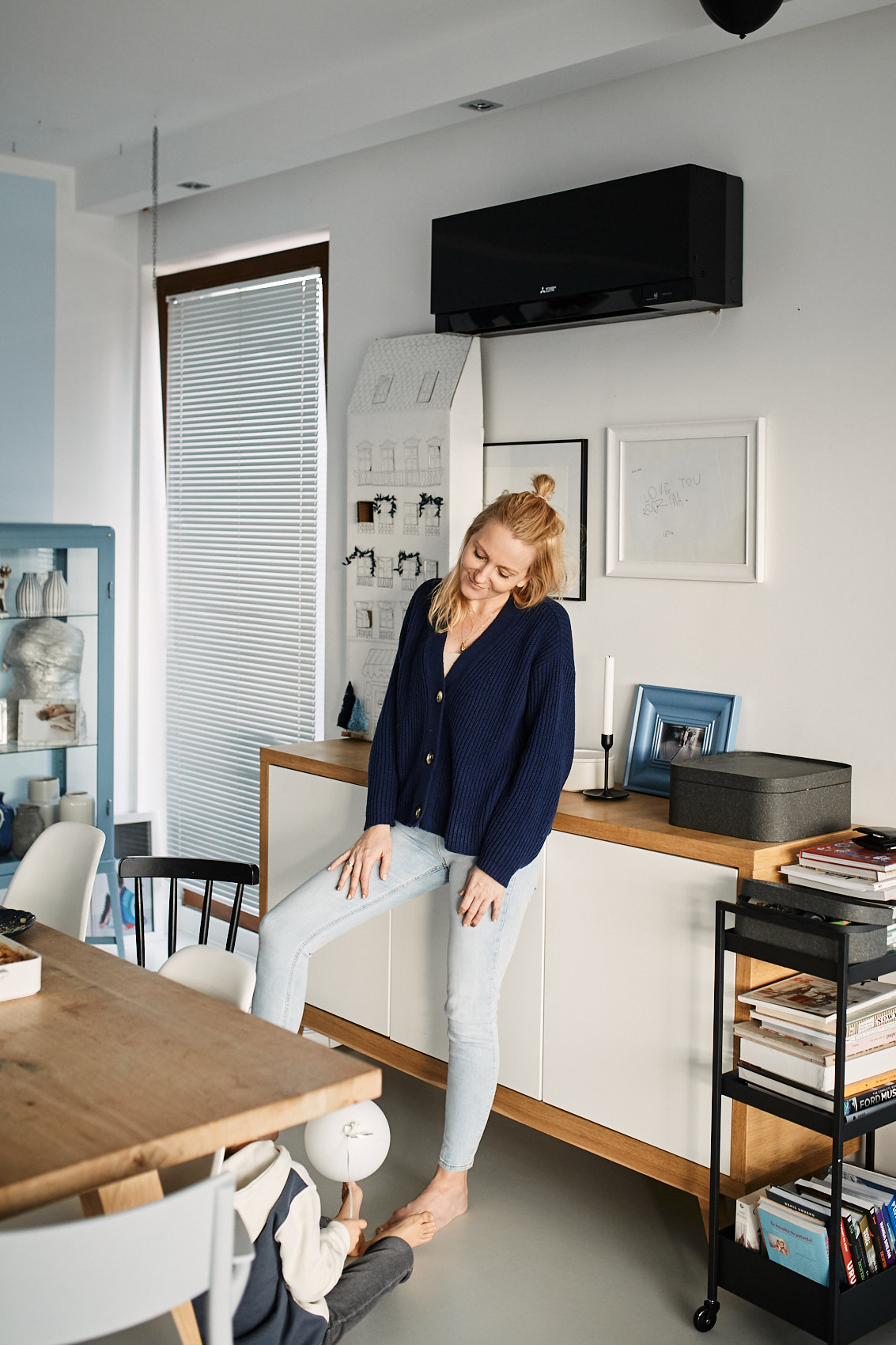 sesja kobieca lifestyle w domu